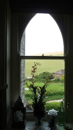 Bindon Bottom B&B: The window on the landing