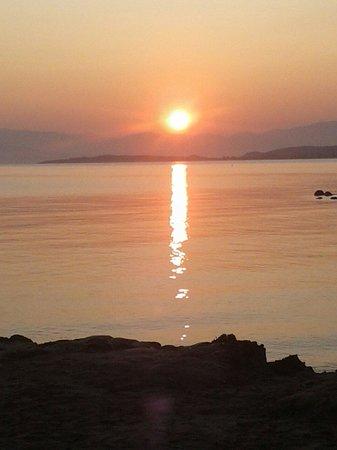 Sunrise at mitsis roda beach hotel - August 2014
