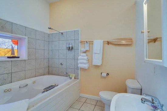 New Buffalo Inn & Spa: Eber Knight Bath Area