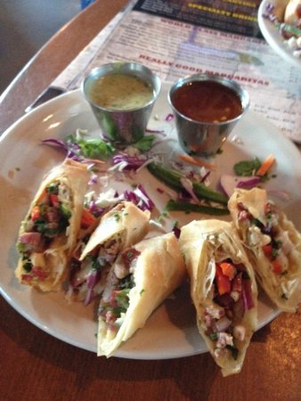 Two Step Restaurant and Cantina: Texas Rolls