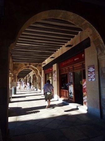 Soportales de la Plaza Mayor de Salamanca