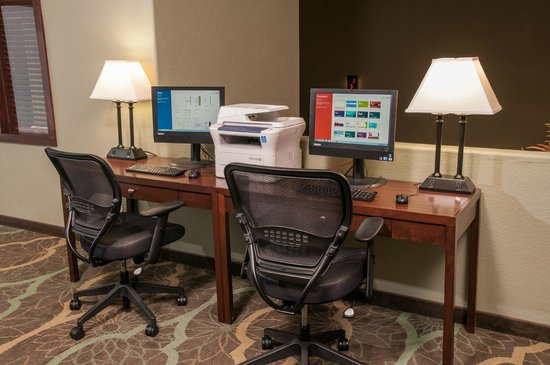 BEST WESTERN PLUS Eagle Lodge & Suites: Business Center