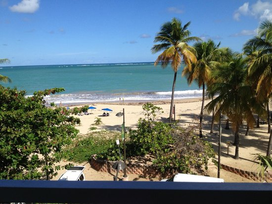 San Juan Water & Beach Club Hotel: View from our room