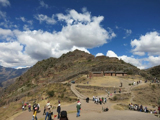 Pisac: the main site - Pisaq