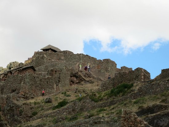 Pisac: more of the main site - Pisaq