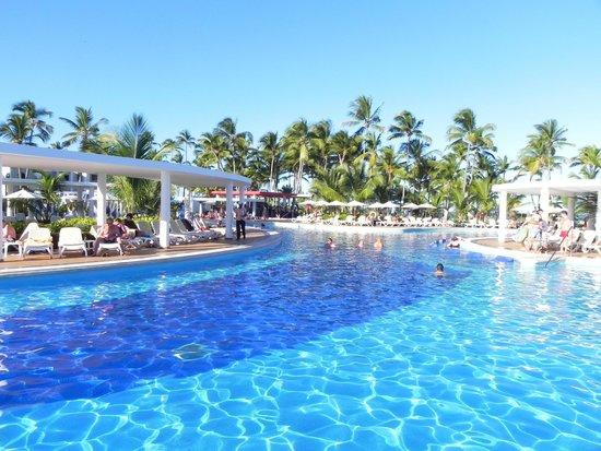 Hotel Riu Palace Bavaro: La piscine