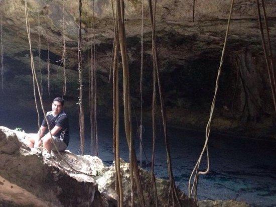 Cenote Chikin Ha: Cenote donde se efectúa ceremonia