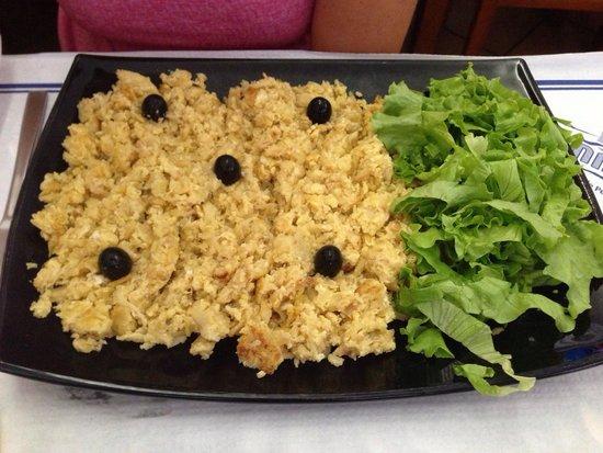 restaurante take-away O Cisne : Bacalhau