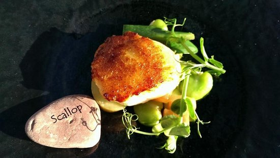 Searcys | The Gherkin : Delicious scallop