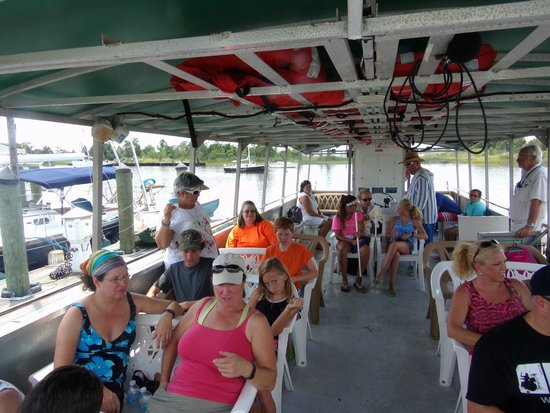 Rover Boat Tours - Carolina Rover: Ready to get started.