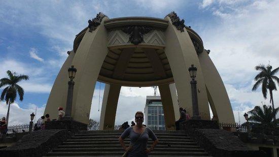 Central Park (Parque Central): The structure!