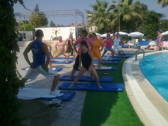 Palmin Hotel: yoga