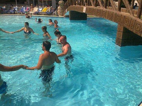 Palmin Hotel: havuz - oyunu