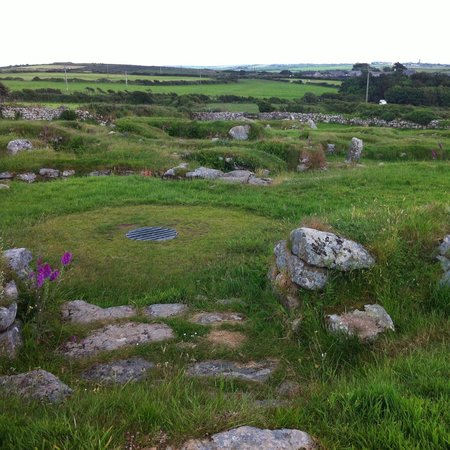 Carn Euny Ancient Village: Dwellings view