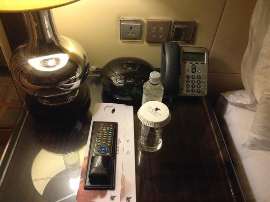 JW Marriott Hotel Beijing: room and complementary water
