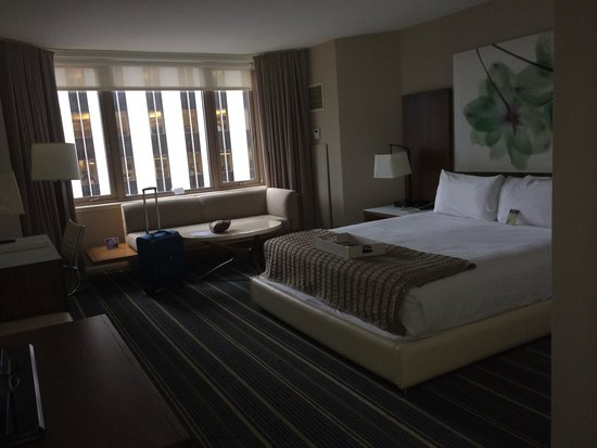 Fairmont Chicago Millennium Park: Nice size room