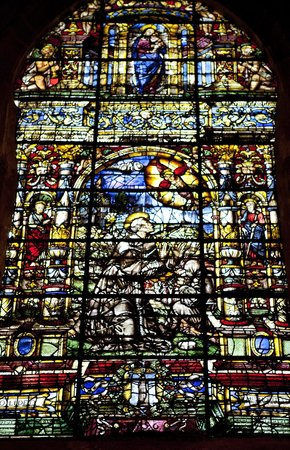 Catedral de Sevilla: Glass decoration