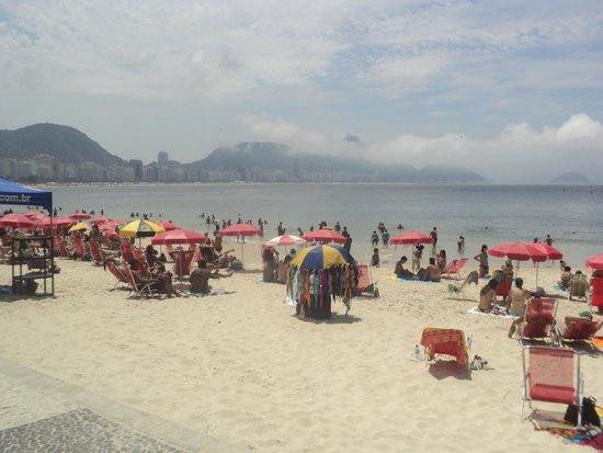 Mirasol Copacabana Hotel: playas de copacabana