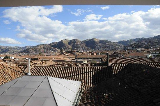 Tierra Viva Cusco Plaza: View from hotel common area