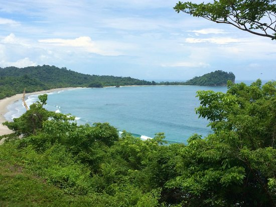 Arenas del Mar Beachfront and Rainforest Resort, Manuel Antonio, Costa Rica : Amazing view!