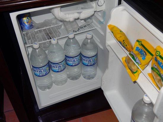 Grand Bahia Principe Jamaica: Room refrigerator