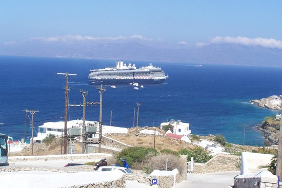 Myconian K Hotels: Blick vom Hotel nach Tinos