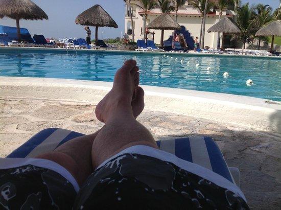 Grand Park Royal Cancun Caribe: Main Pool