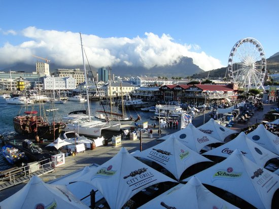 Atlantic Point Backpackers : Close to V&A Waterfront