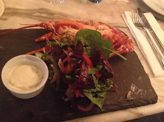The Seafood Bar @ Kirwan's : Aragosta - the lobster!