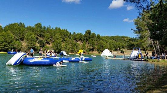 Lac de la Cavayere : Inflatables
