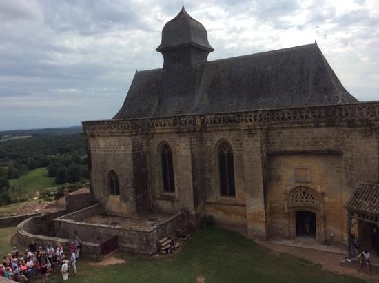 Château de Biron : la chapelle