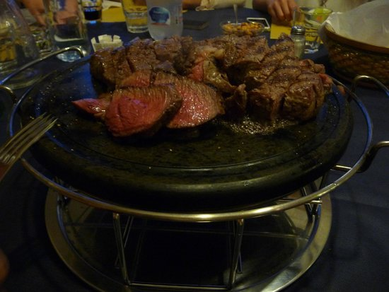 Agriturismo La Pietriccia: Sizziling Beef