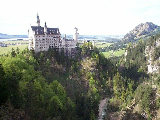 Hotel Das Rübezahl: Neuschwanstein Castle a little closer