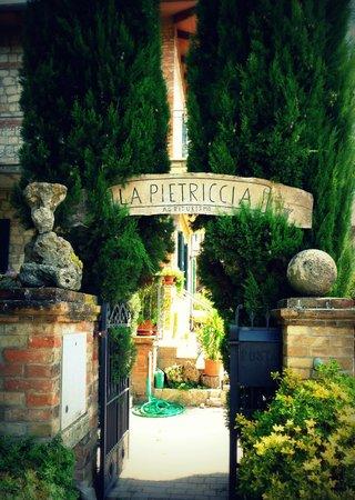 Agriturismo La Pietriccia: Welcome
