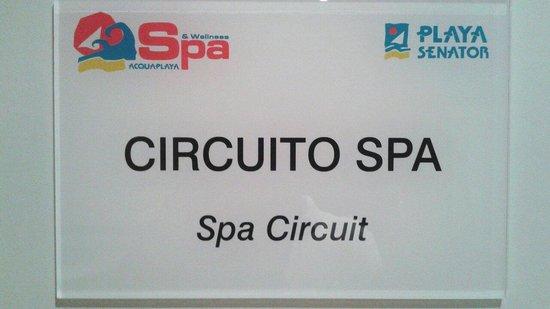 Senator Marbella Spa Hotel: Spa playa senator