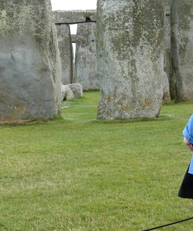 Stonehenge: you can get quite close