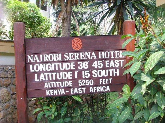 Nairobi Serena Hotel: Hotel Info