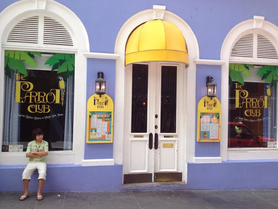 The Parrot Club: Front entrance