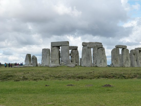 Stonehenge: one of the more distant views
