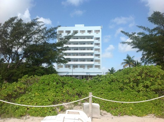 Miami Beach North Plaza Hotel: До океана 50 метров