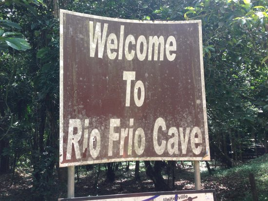 Rio Frio Cave: The Sign