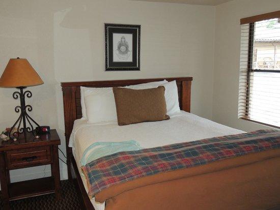 The Lodge On Route 66 : Certes, les lits ne sont pas du King Size américain mais plus dans le standard européen