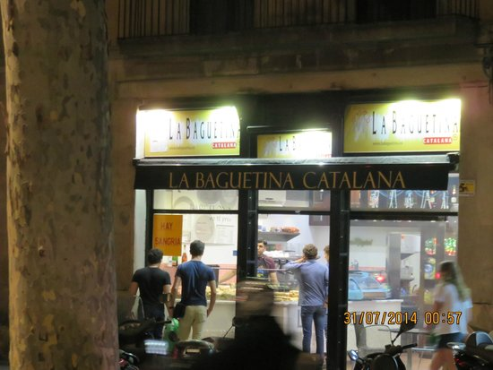 La Baguetina : A place to avoid