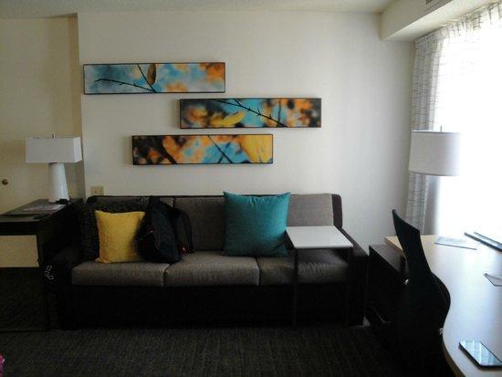 Residence Inn Arlington Rosslyn : Studio Queen Bedroom