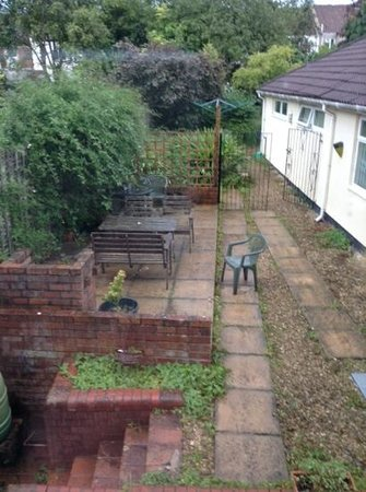 The Base Bed & Breakfast: back garden