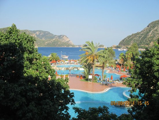 Marti Resort de Luxe : view from room 364