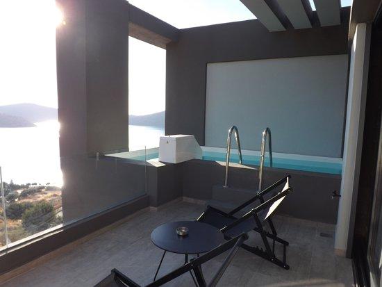 SENTIDO Elounda Blu : Private pool