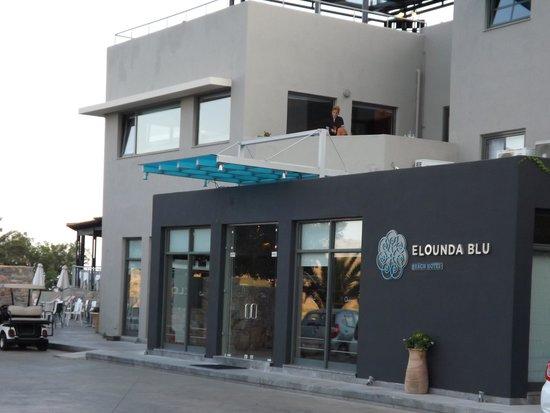 SENTIDO Elounda Blu: Hotel Entrance