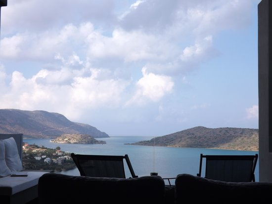 SENTIDO Elounda Blu: View from our bed