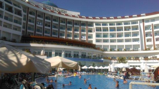 Side Prenses Resort & Spa Hotel: önden görünüş